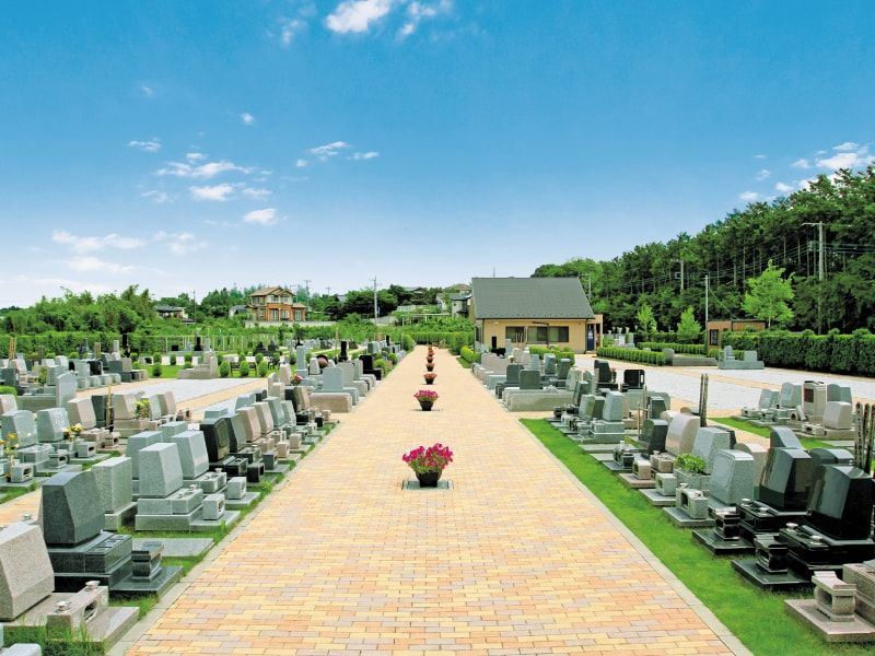 サンヒルズメモリアルガーデンの墓石区画