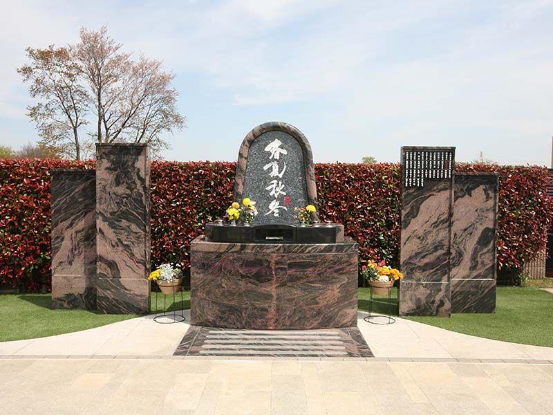 サニープレイス所沢 合葬式永代供養墓「安住の碑 ~春夏秋冬~」