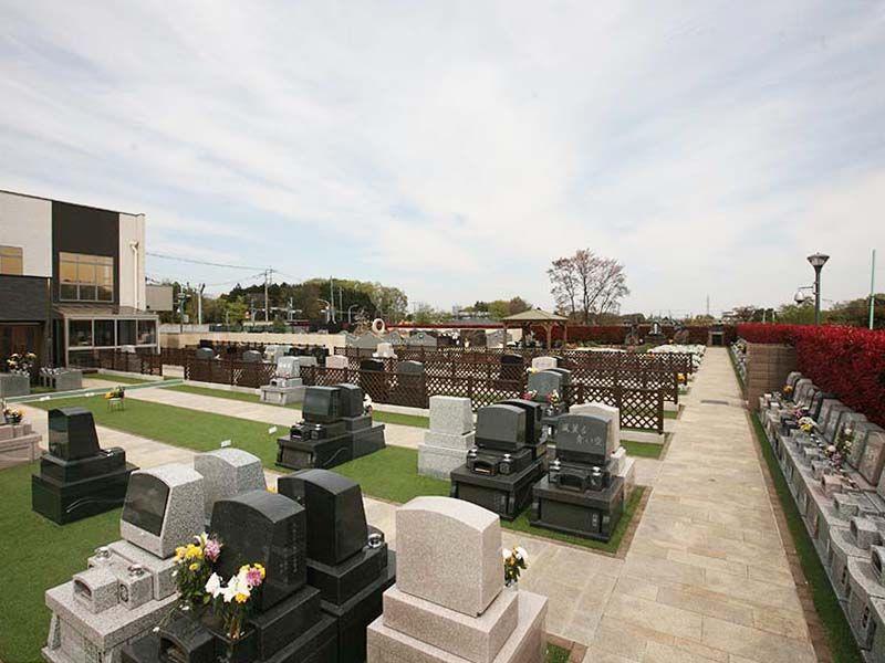 サニープレイス所沢 車椅子でも安心してお参りできるゆとりのある墓域