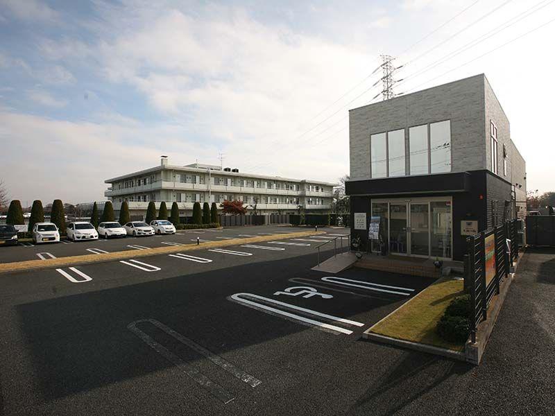 サニープレイス松戸 駐車スペース