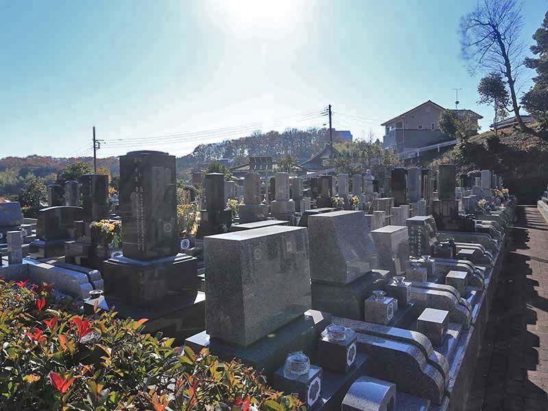 厚木森の里霊園 お墓の形を選択できる