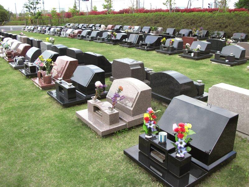 相模原市営 峰山霊園の芝生墓所
