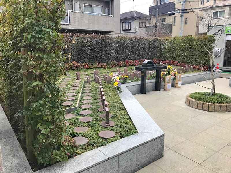 高應寺墓苑 永代供養墓・樹木葬 閑静な住宅街に佇む墓苑