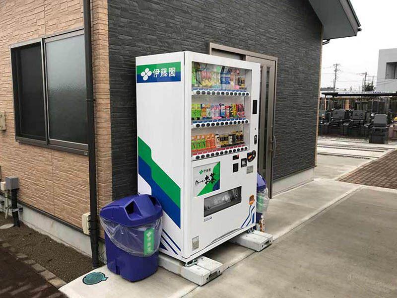 メモリアルガーデン朝霞 自動販売機完備