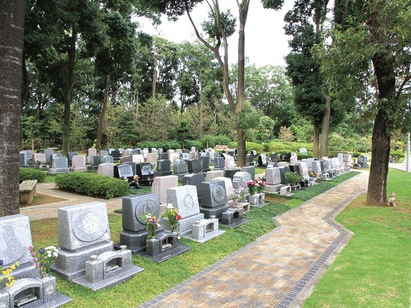 森のお墓 弥生の里・自然聖園の一般墓区画イメージ