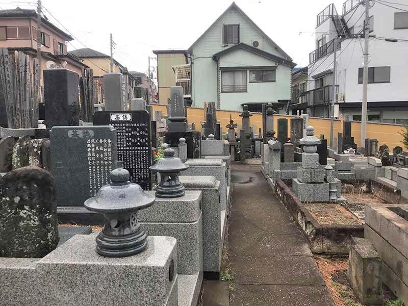 一乗院 永代供養墓・樹木葬 区画整備された墓域