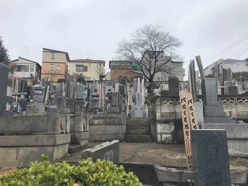 一乗院 永代供養墓・樹木葬 住宅街にある墓域