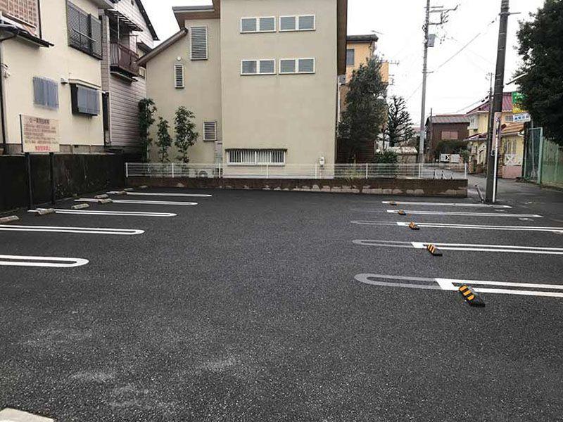 一乗院 永代供養墓・樹木葬 整備された駐車場