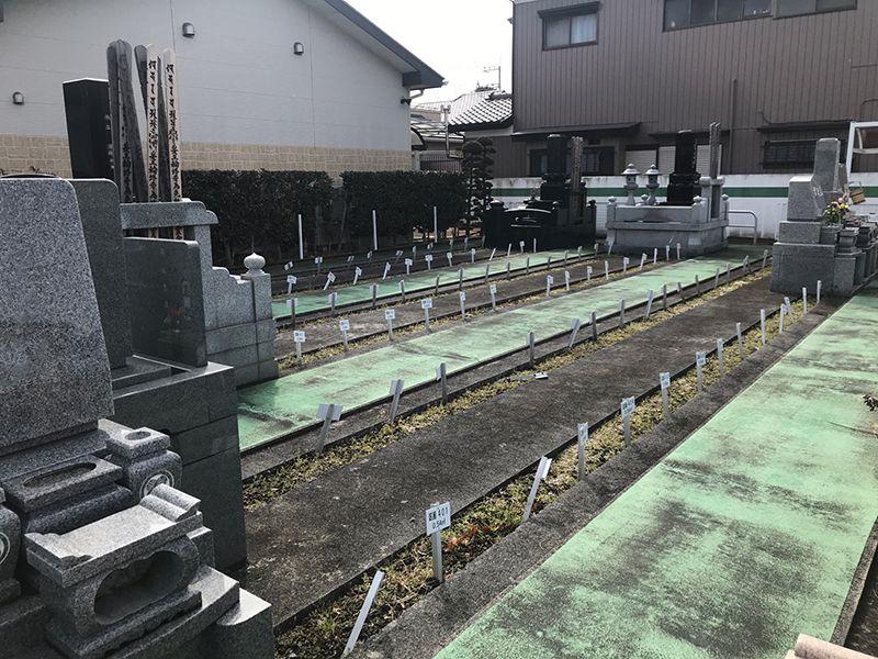 櫻墓苑 新しい区画
