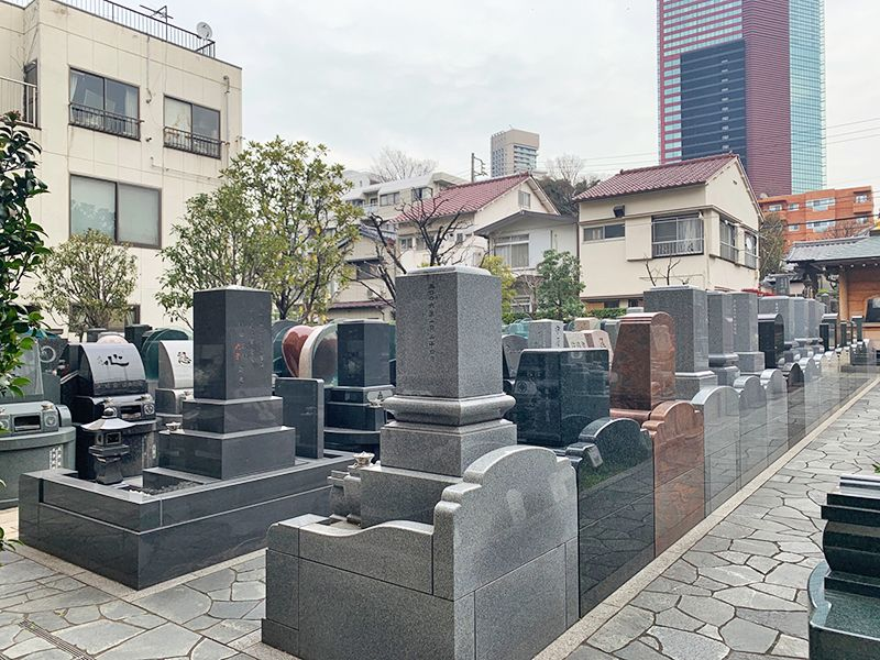 御田いずみ霊園 日当たりのよい墓域