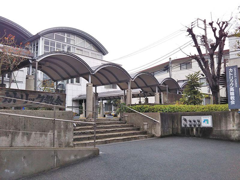 東京カテドラル納骨堂 高輪分室(クリプト高輪) 納骨堂への入り口