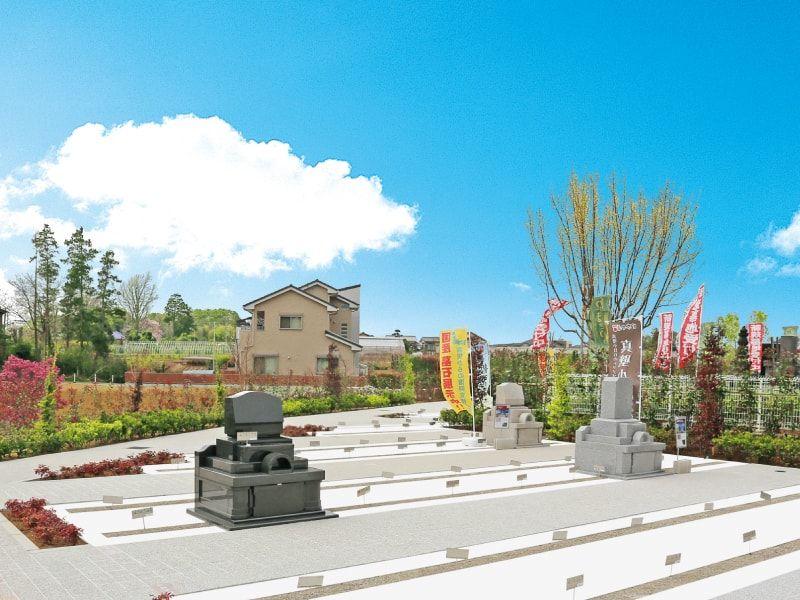 源長寺墓地まどかの杜 日当たりの良い明るい霊園風景②