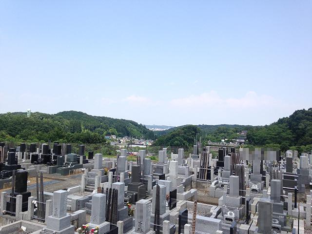 八王子聖地霊園 美しい緑に囲まれた霊園風景