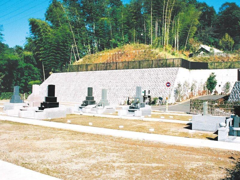みたまやすらぎの里 稲足神社霊園 広々とした墓域