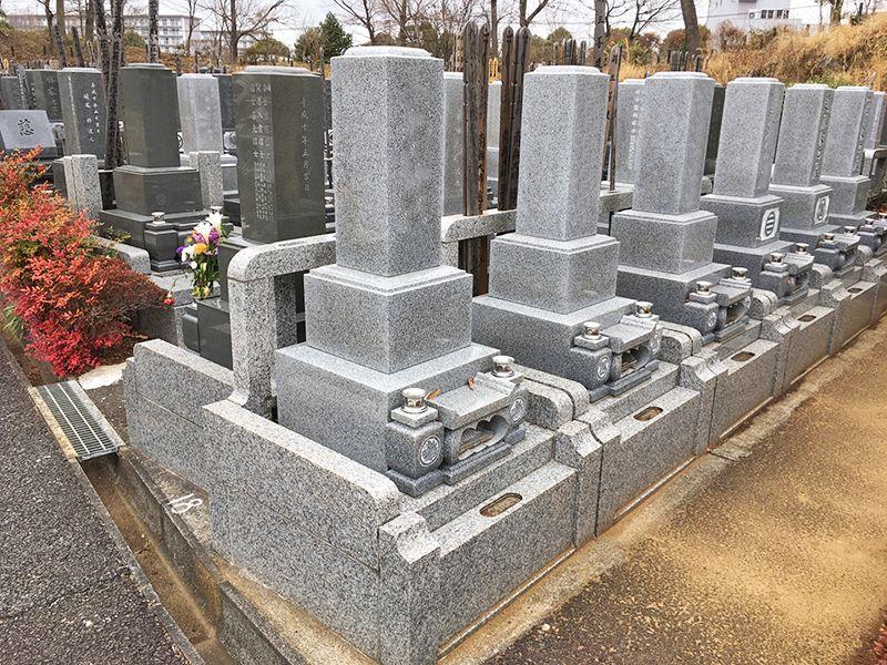 多摩さくら浄苑 区画整理された墓域