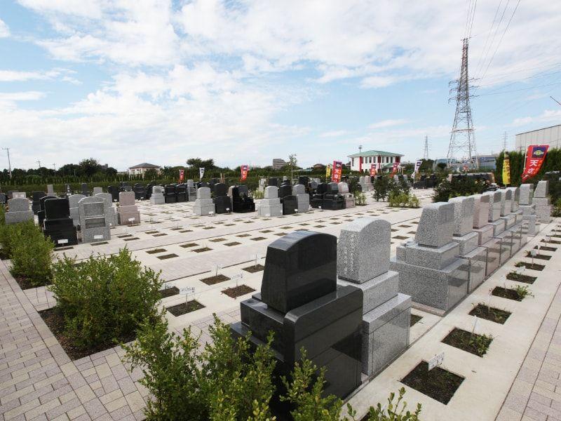 座間霊園 天空の郷 墓石間にゆとりがある「優雅墓所」