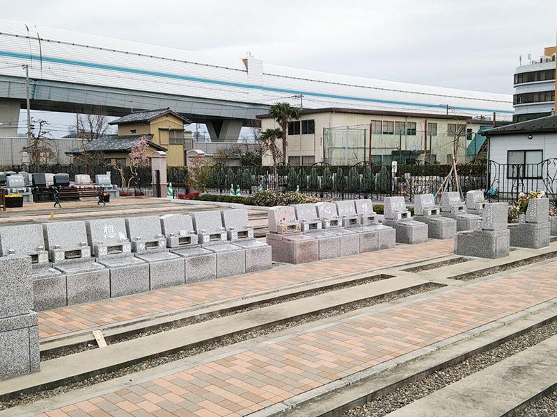 西浦和霊園 櫻聖陵 洋型墓石