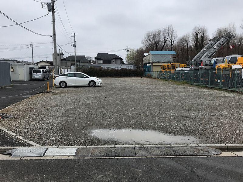 新座墓苑 駐車スペース