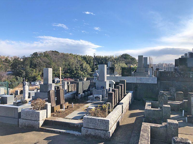 橘聖地第二霊園 自然溢れる墓域