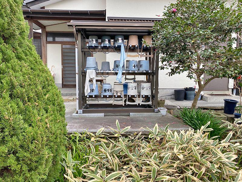 藤沢樹木葬墓地 自由に使える参拝道具