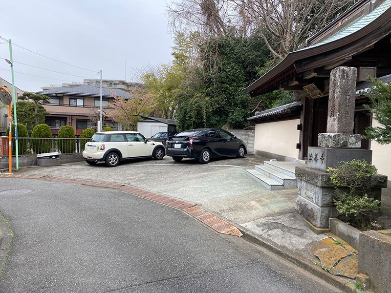 藤沢樹木葬墓地 駐車スペース