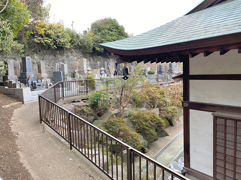 藤沢樹木葬墓地 墓地内風景