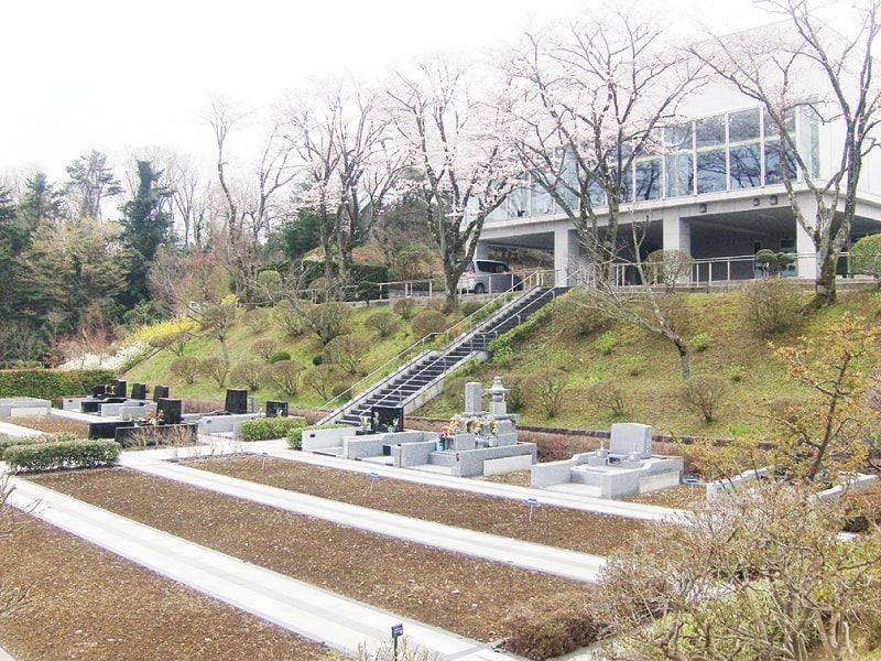 東京霊園 2か所あるうちの1つの管理事務所②