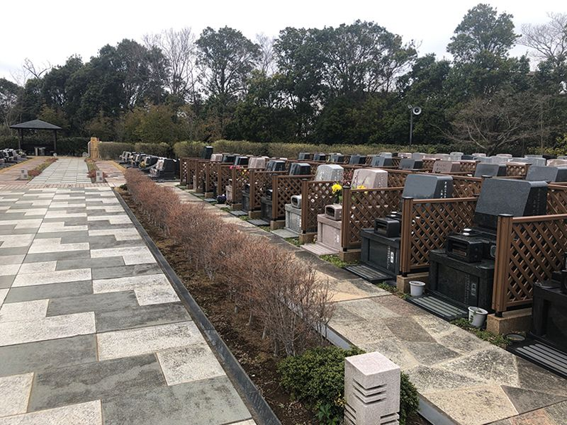 八千代悠久の郷霊園 永代供養墓 フェンス付き墓所