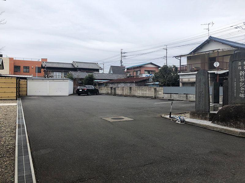 円光院 やすらぎの杜 駐車場②