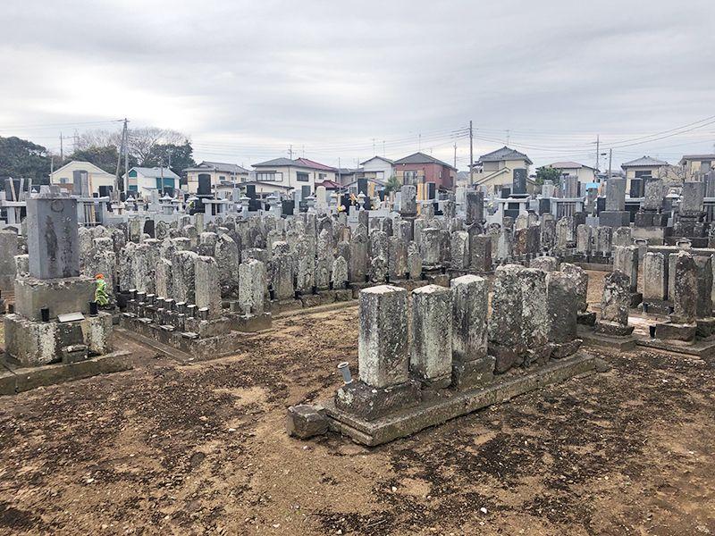円光院 やすらぎの杜 歴史を感じられる墓域