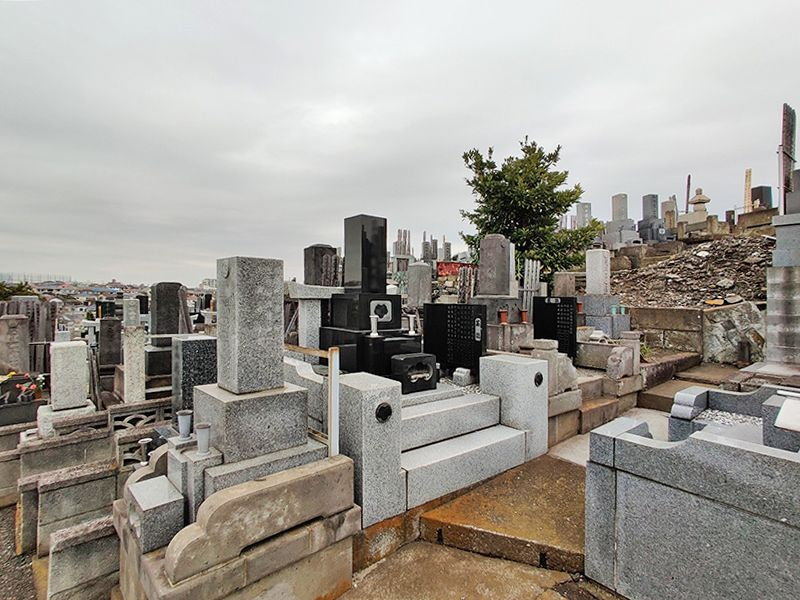 大圓寺 根岸共同墓地