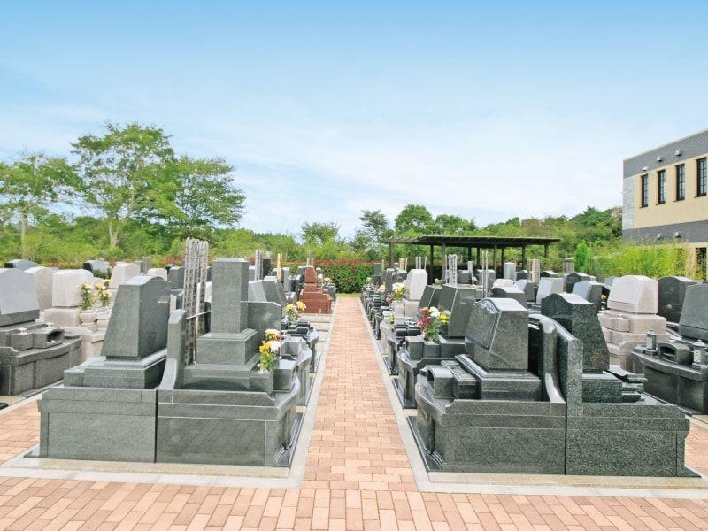 メモリアルサンステージ 日当たりが良く明るい墓域