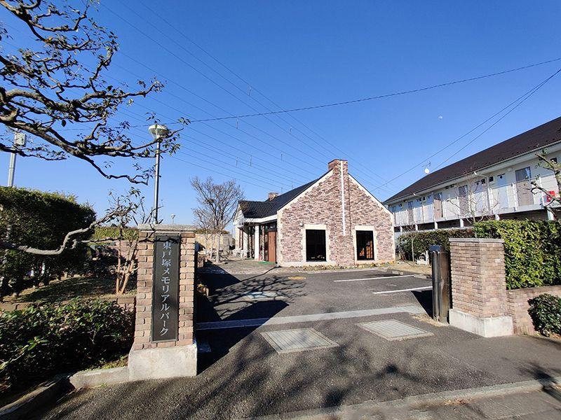 東戸塚メモリアルパーク 穏やかな雰囲気の入り口