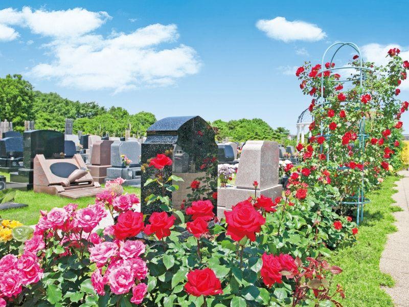 メモリアルパーク大和墓苑 ふれあいの郷の園内風景