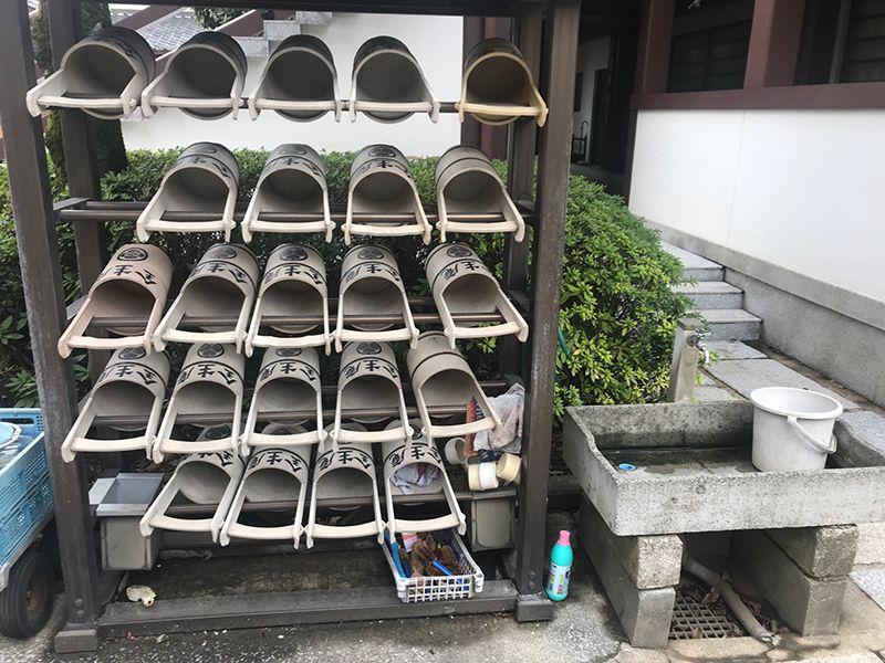 全生庵 観音霊苑 (納骨堂) 水汲み道具も多数完備