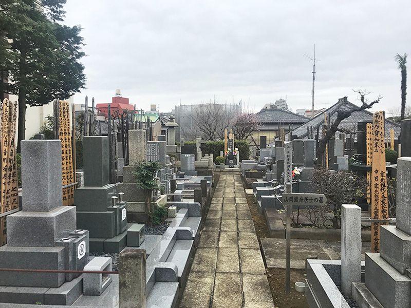 全生庵 観音霊苑 (納骨堂) きれいに区画された墓域