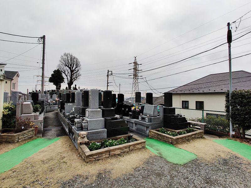 清水ヶ丘霊園 永代供養墓 紫雲陵 区画整理された墓域