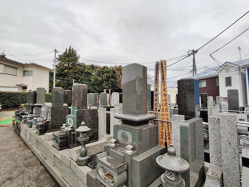 清水ヶ丘霊園 永代供養墓 紫雲陵 手入れが行き届いている墓域