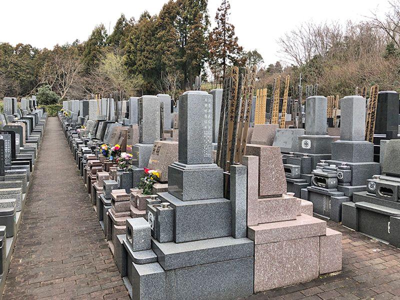 弥生の杜 和型・洋型墓石