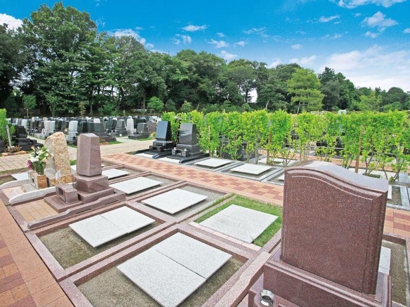横浜みどりの森のガーデニング墓所