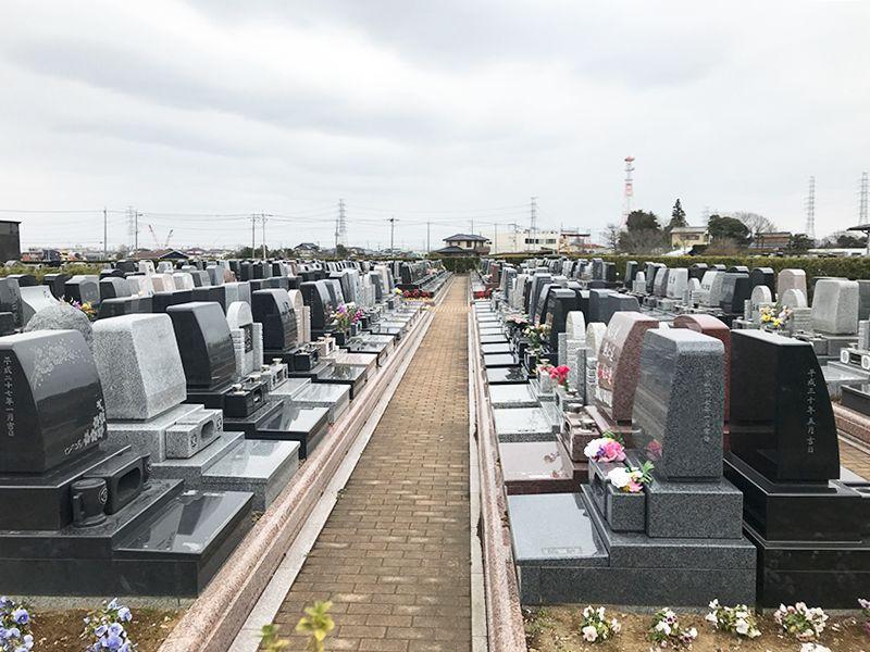 吉川美南霊園 ペット共葬墓 手入れが行き届いた墓域