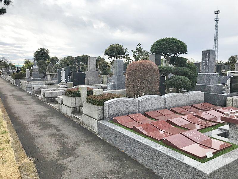 かすかべ霊園 永代供養墓 広々とした園内