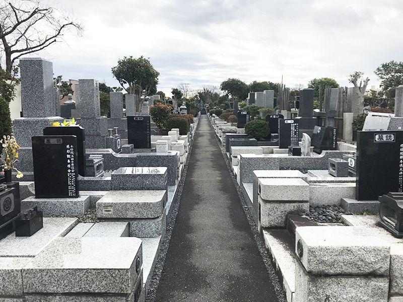 かすかべ霊園 永代供養墓 手入れが行き届いた墓域