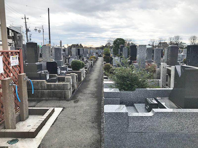 かすかべ霊園 永代供養墓 整備された区画