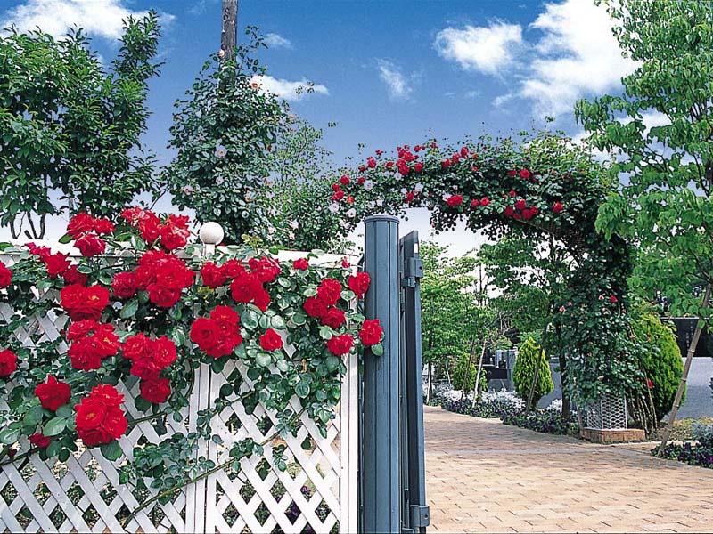 小平メモリアルガーデン 洋風ガーデン風入口
