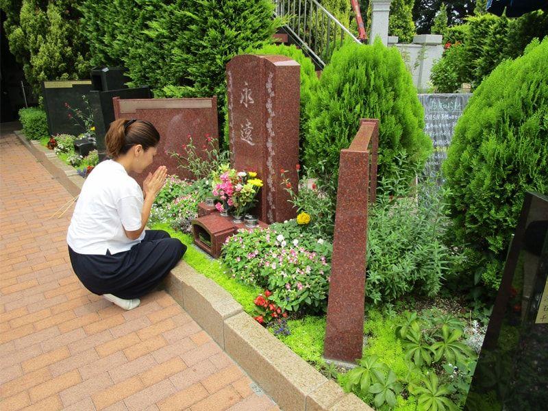 フラワーメモリアル国立府中 ガーデニング墓地