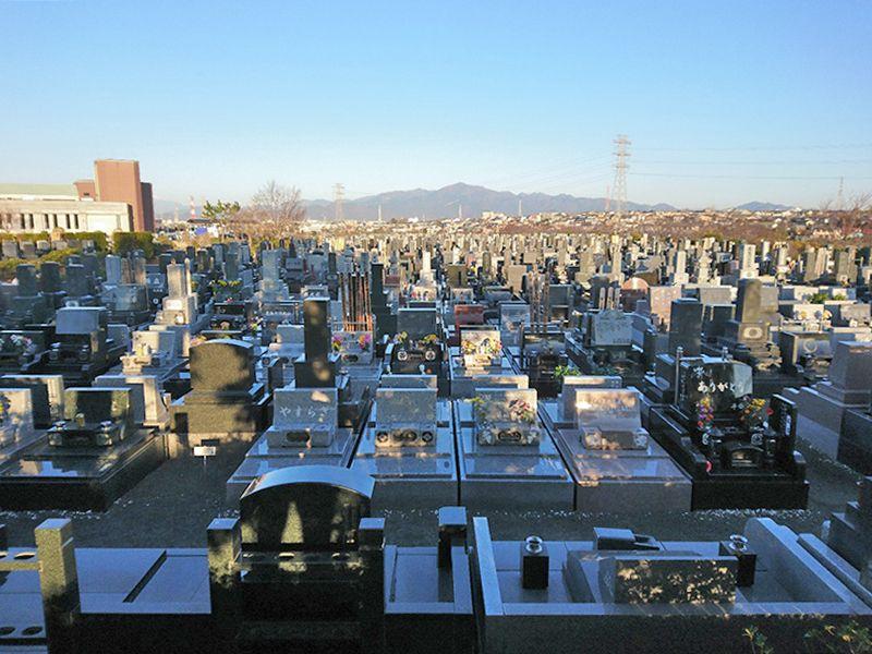 湘南公園墓地茅ヶ崎霊園 和型・洋型墓石
