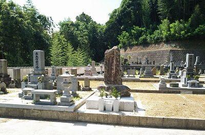 中屋谷第1墓園の墓所全域
