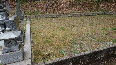 中屋谷第2墓園の空き区画