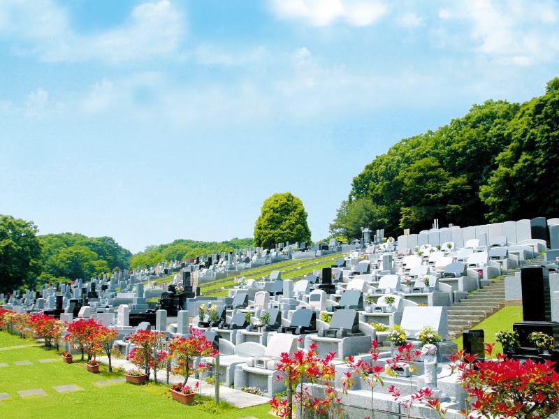 森林湖畔霊苑 日当たりのよい墓域